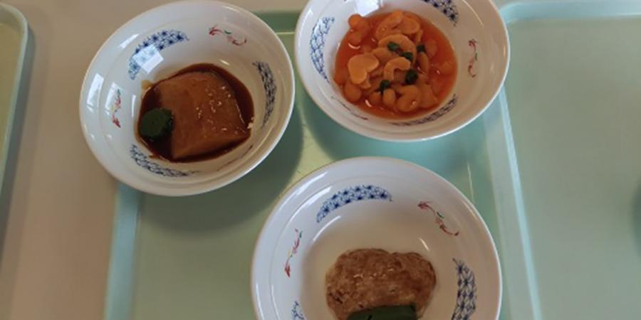 ソフト食の試食会