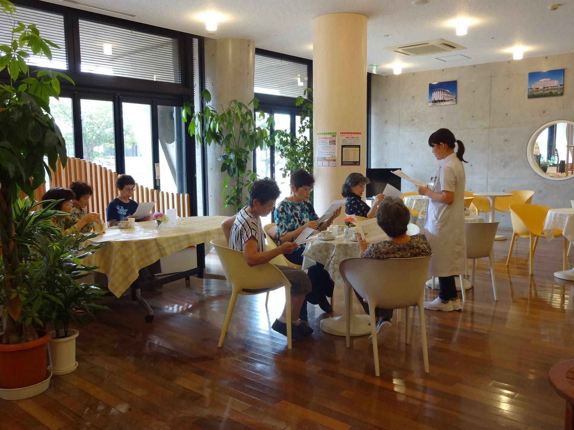 認知症カフェ「ひととき」 『健康ミニ講座』開催