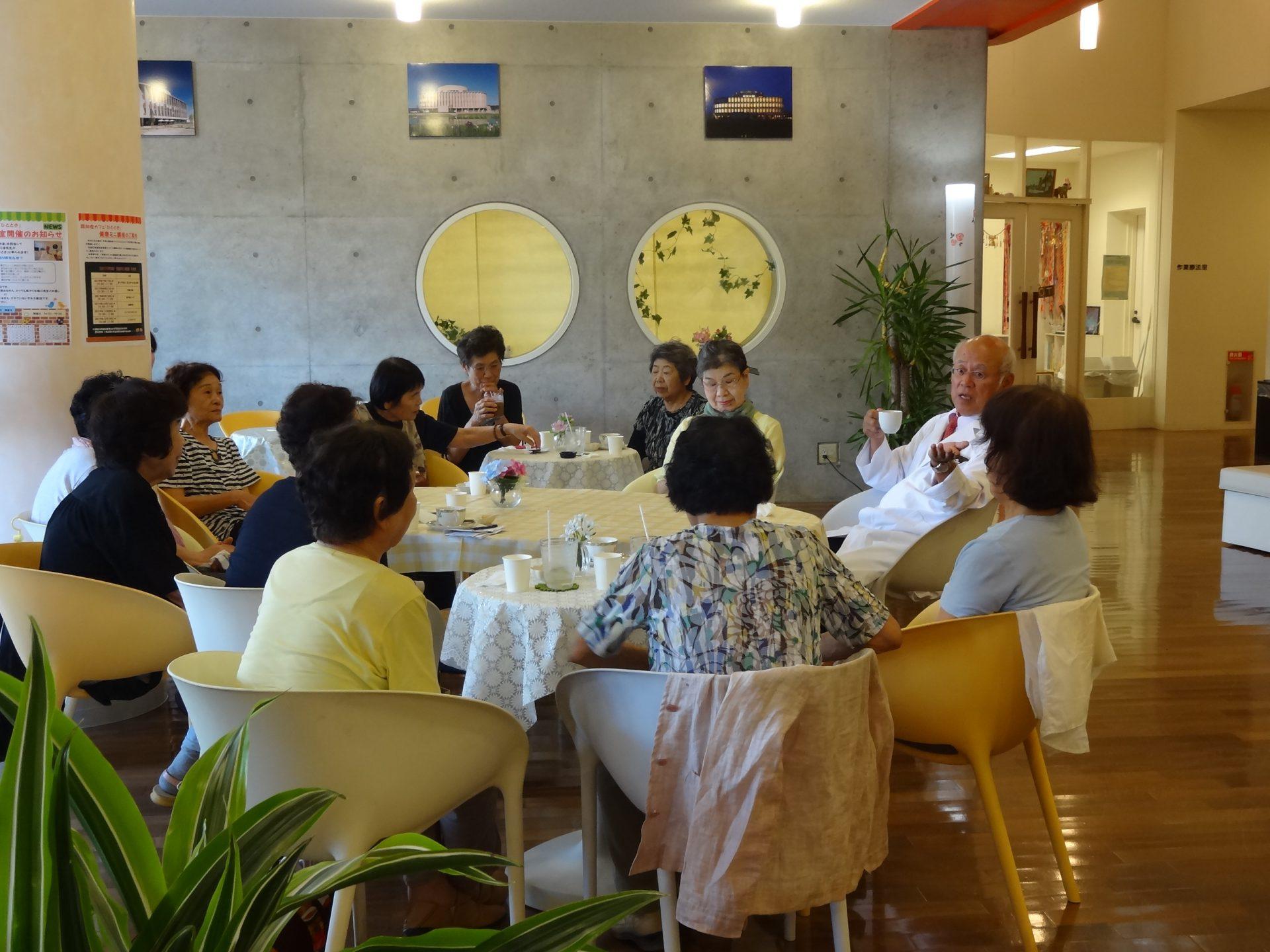 認知症カフェ「ひととき」 7月『堀口教室』開催