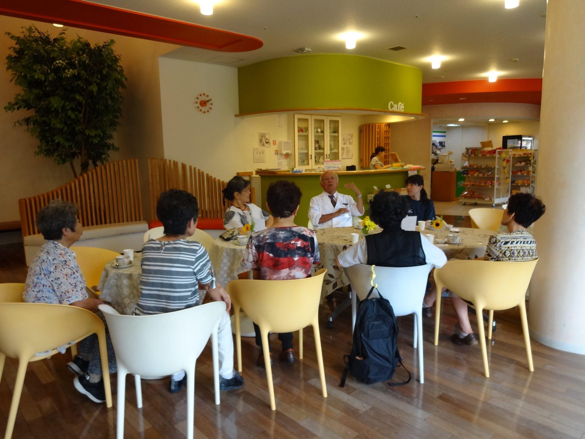 認知症カフェ「ひととき」 8月『堀口教室』開催