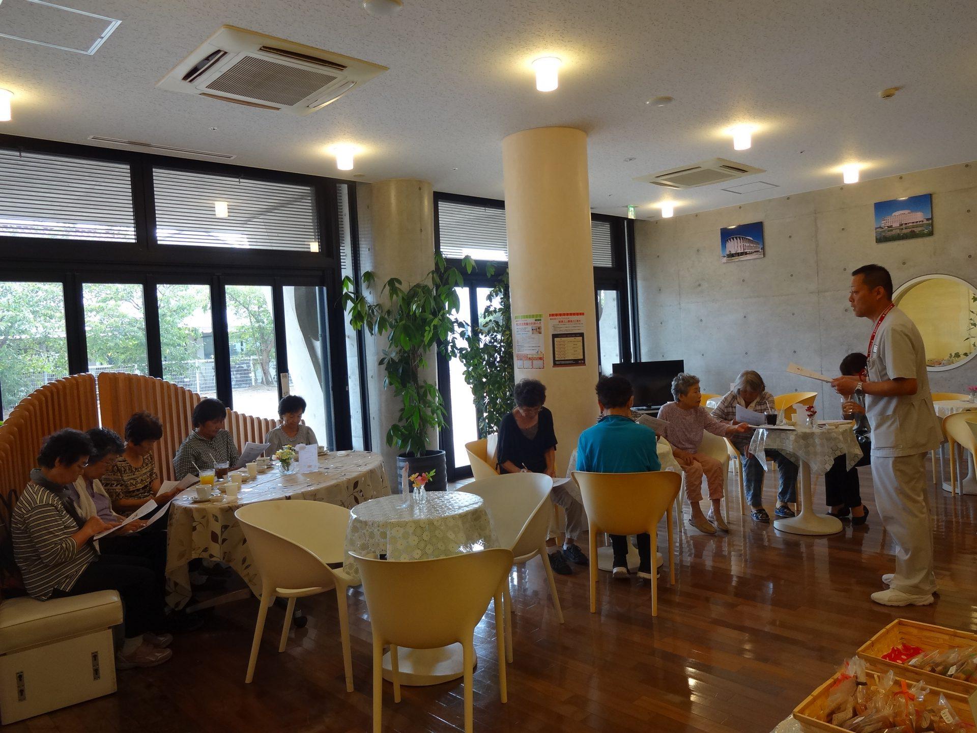 認知症カフェ「ひととき」 9月『健康ミニ講座』開催