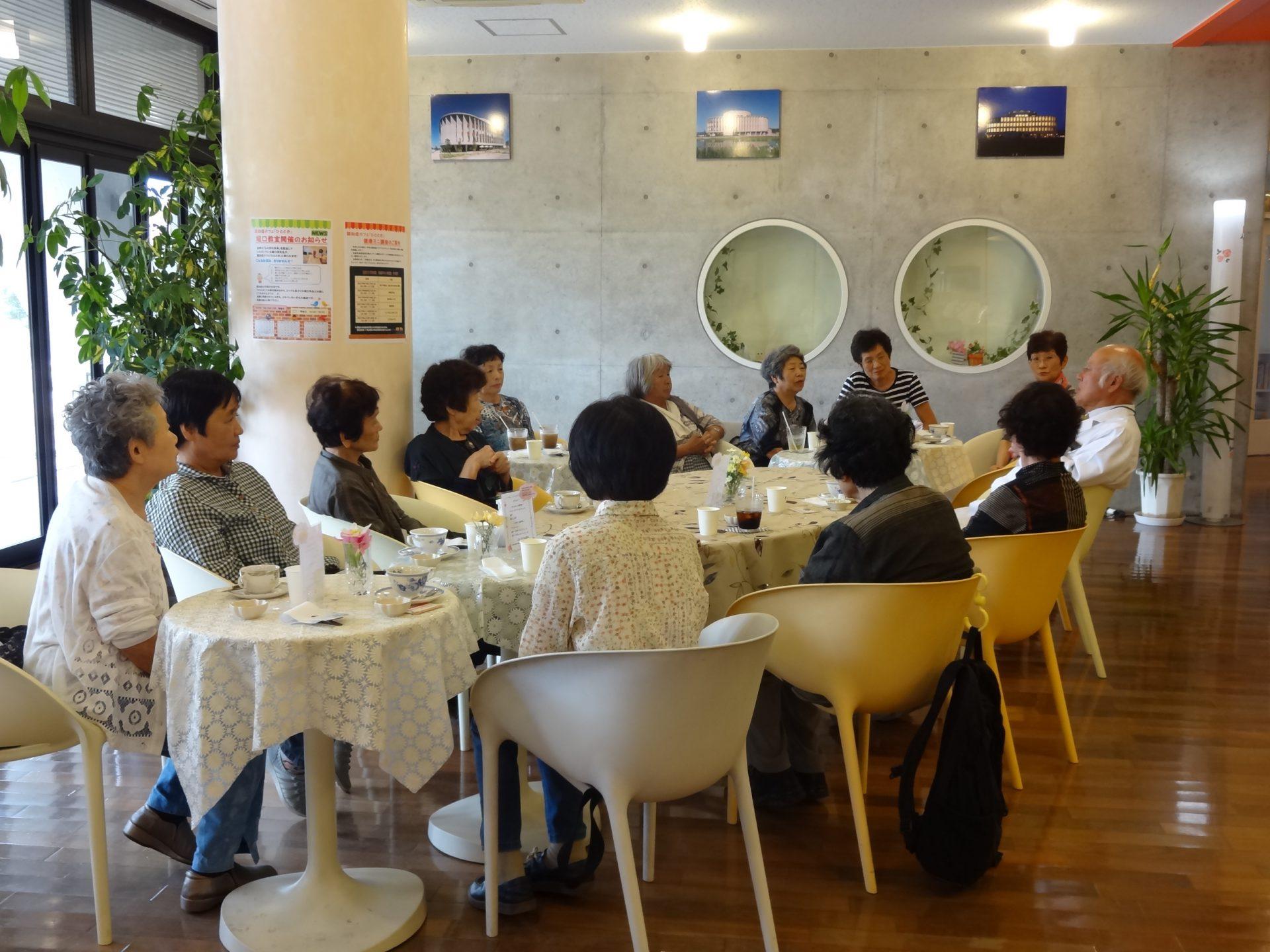 認知症カフェ「ひととき」 9月『堀口教室』開催