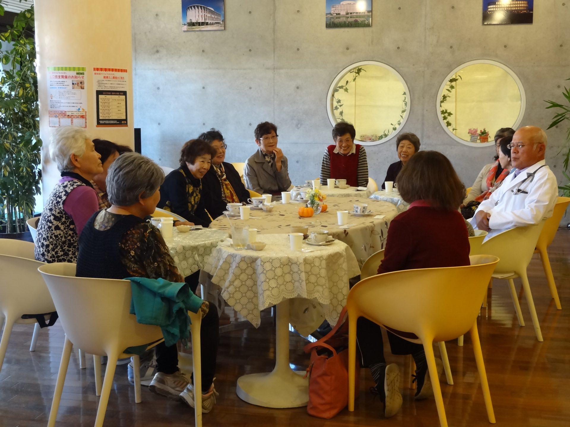 認知症カフェ「ひととき」 10月『堀口教室』開催