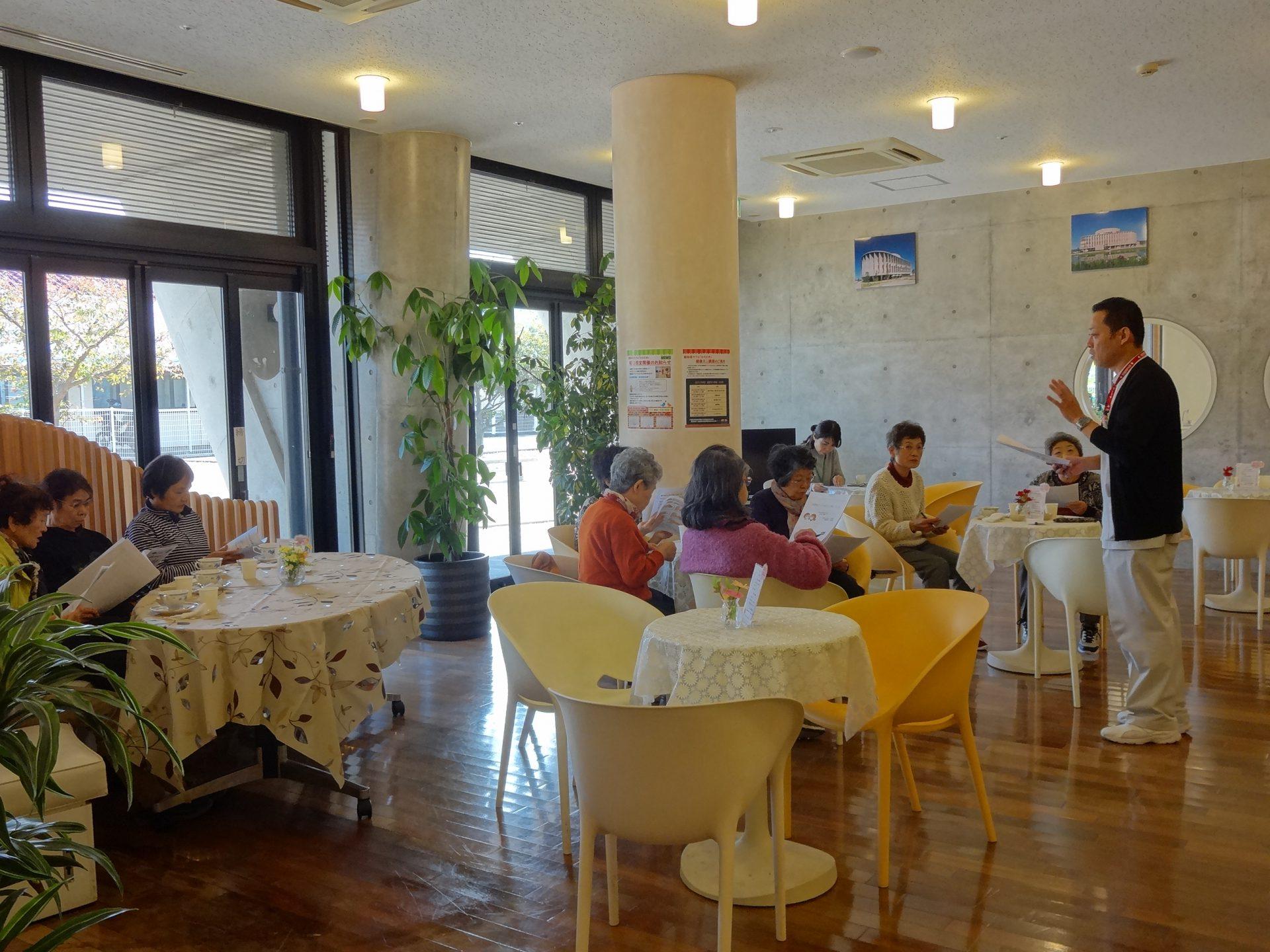認知症カフェ「ひととき」 11月『健康ミニ講座』開催